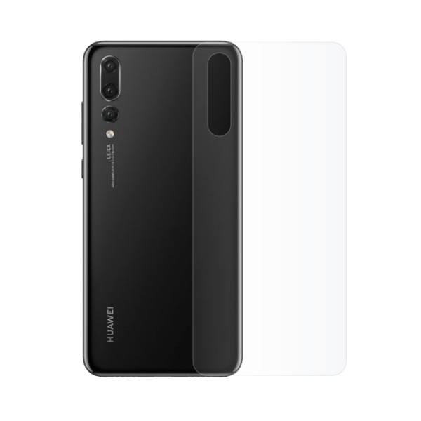 film hydrogel protection vitre arrière Huawei p20