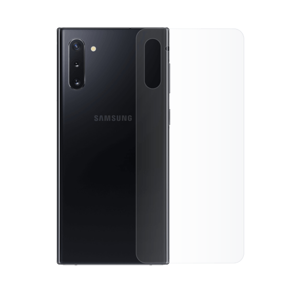 Protection arrière galaxy note 10 plus superflex