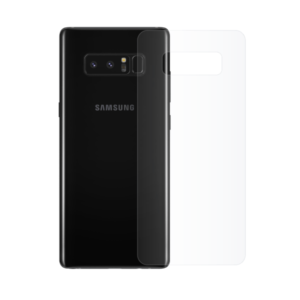 Protection arriere galaxy note 8 superflex
