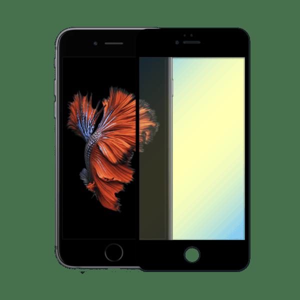 protège ecran verre trempe anti lumiere bleue apple iphone 6