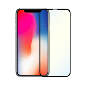 protege écran anti lumiere bleue apple iphone x