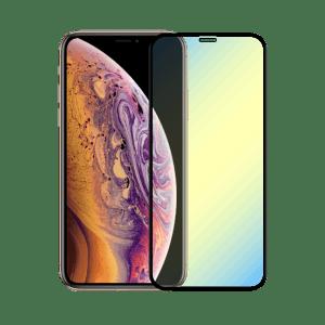 protege écran anti lumiere bleue apple iphone xs