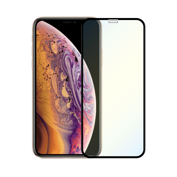protege écran anti lumiere bleue apple iphone xs