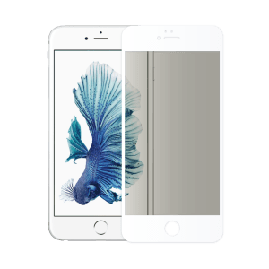 verre trempé confidentiel écran apple iphone 6 blanc