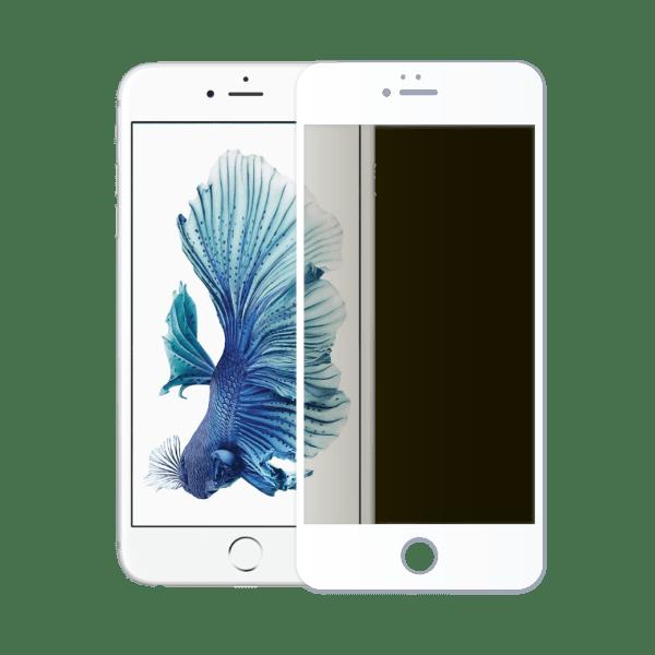 verre trempé confidentiel écran apple iphone 6 blanc