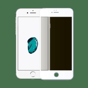 protege ecran verre trempé confidentiel apple iphone 7 blanc
