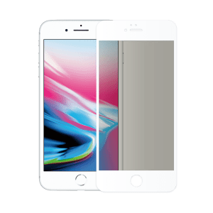 verre trempé confidentiel écran apple iphone 8 blanc