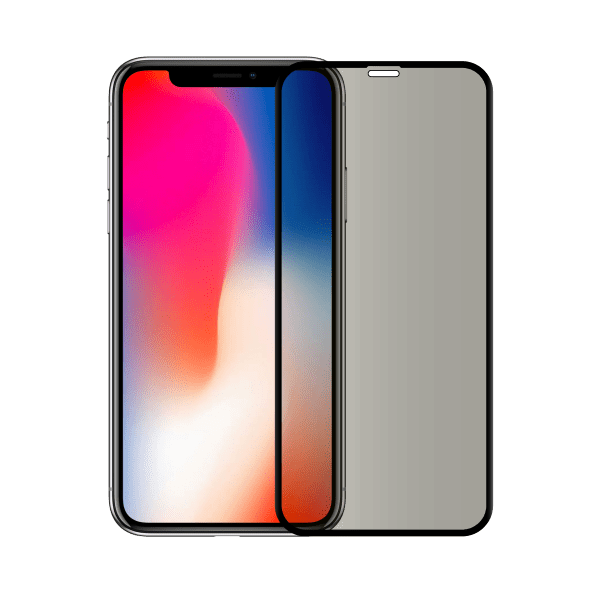 protege ecran anti espion verre trempe iphone x