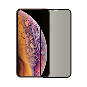 protege ecran anti espion verre trempe iphone xs