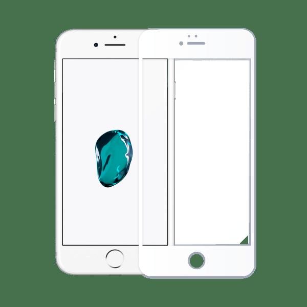 protege ecran verre trempe superdur iphone 7 blanc