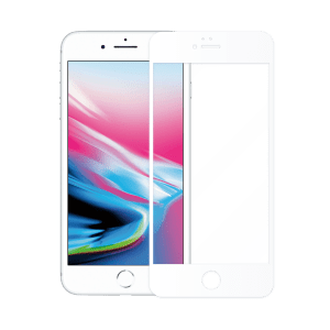 protege ecran verre trempe superdur iphone 8 blanc